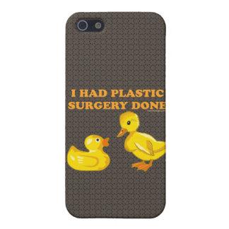 I Had Plastic Surgery Ducks iPhone 5/5S Case