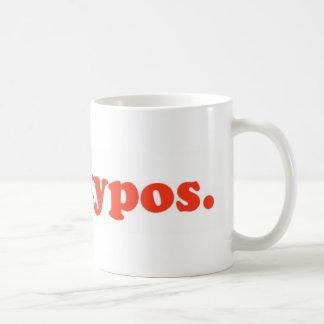 I hae typos - red coffee mugs