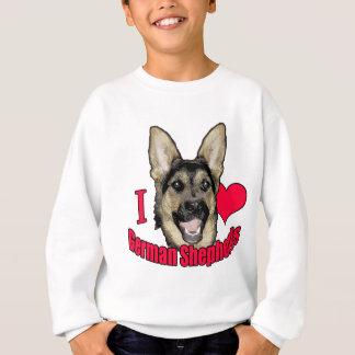 I Hart German Shepherd Sweatshirt
