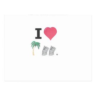 I Hart Palm Springs Postcard
