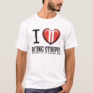 I Hart Racing Stripes T-Shirt