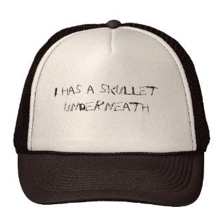 I has a skullet hats
