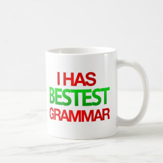I has BESTEST Grammar Mug