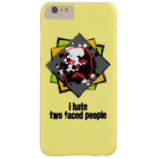 I hastens two faced people Phone puts Barely There iPhone 6 Plus Case