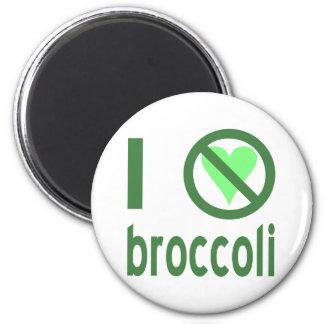 I Hate Broccoli 6 Cm Round Magnet