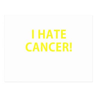 I Hate Cancer Postcards