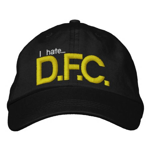 I Hate DFC Hat Embroidered Baseball Caps