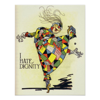 I Hate Dignity! Poster