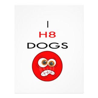 I hATE DOGS Flyer Design