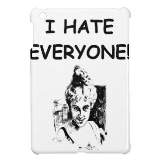 i hate everyone iPad mini cover