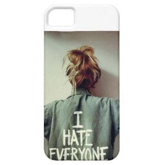"""I Hate Everyone"" Iphone 5 phone case"
