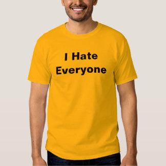 I Hate Everyone Tees