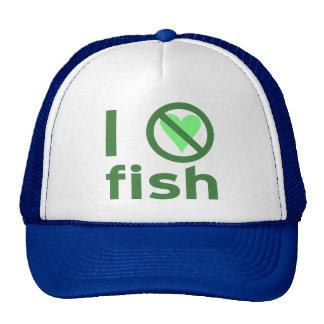 I Hate Fish Cap
