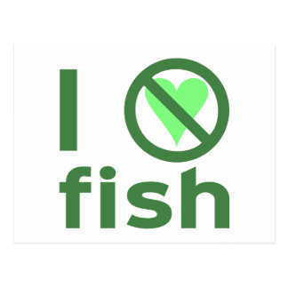I Hate Fish Post Cards