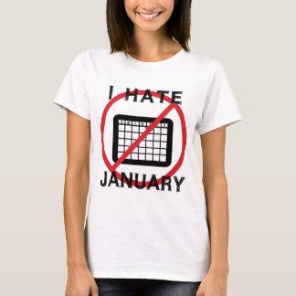 I Hate January T-Shirt
