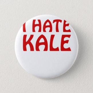 I Hate Kale 6 Cm Round Badge