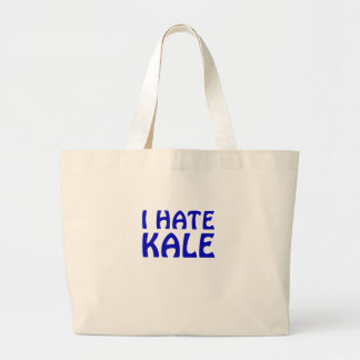 I Hate Kale Large Tote Bag