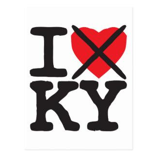 I Hate KY - Kentucky Post Cards