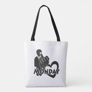 I hate Monday! Tote Bag