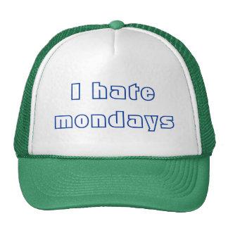 I hate mondays hat