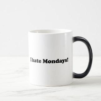 I Hate Mondays Magic Mug