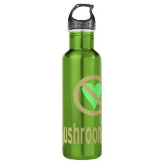 I Hate Mushrooms 710 Ml Water Bottle