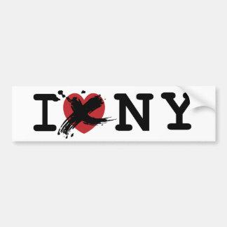 I Hate New York, Funny Bumper Sticker