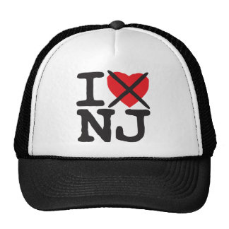 I Hate NJ - New Jersey Mesh Hat