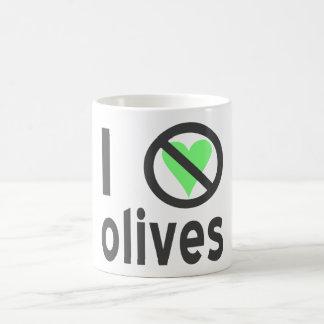I Hate Olives (Black) Coffee Mug
