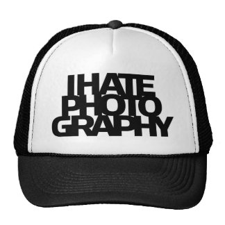 I Hate Photography Mesh Hat