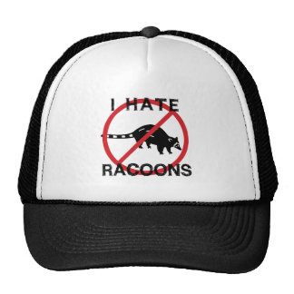 I Hate Racoons Cap