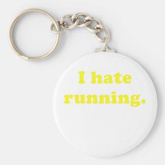 I Hate Running Keychain