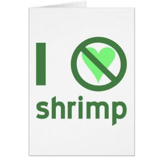 I Hate Shrimp Card