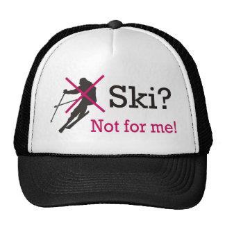 I hate ski shirt hats