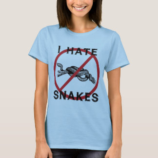 I Hate Snakes T-Shirt