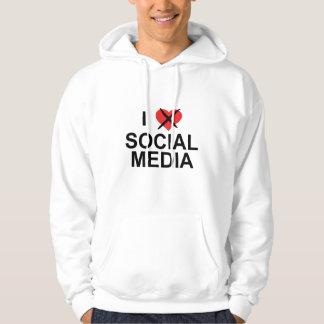 I Hate Social Media Hoodie
