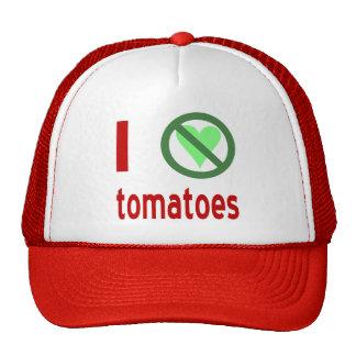 I Hate Tomatoes Cap