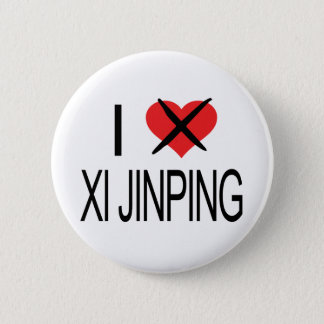 I HATE Xi Jinping 6 Cm Round Badge