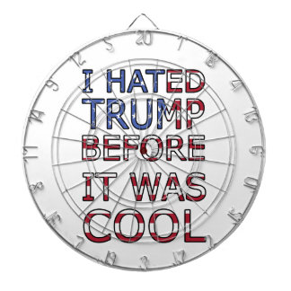 I hated Trump before it was cool Dartboard