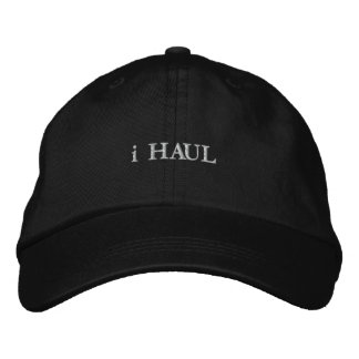 i HAUL Embroidered Hat