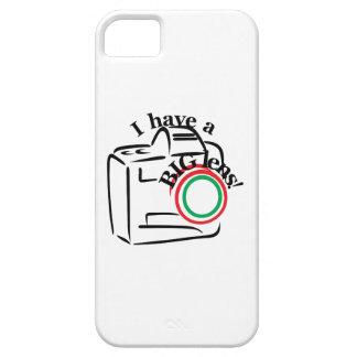 I Have A Big Lens iPhone 5 Cover