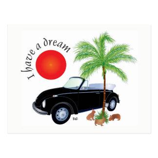 I have A dream postcard