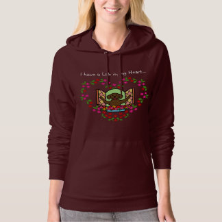 I have a Lab in my Heart (Chocolate Lab) Hoodie