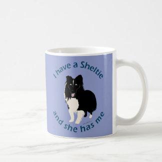 I Have A Sheltie Coffee Mug