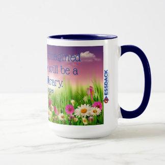 I have always imagined paradise...library mug