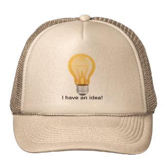 I HAVE AN IDEA MESH HATS