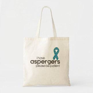 I have Aspergers Tote Bag