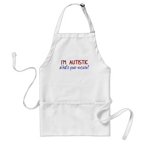 I Have Autism Aprons