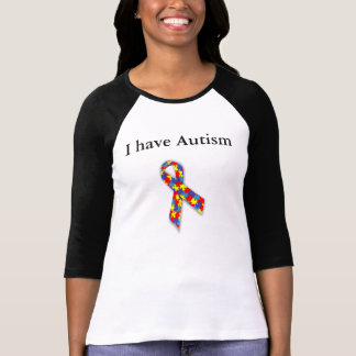 I Have Autism - Deal With It T-Shirt
