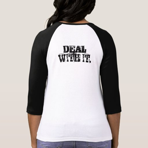 I Have Autism - Deal With It T Shirts